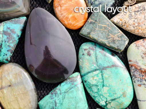 crystal layout